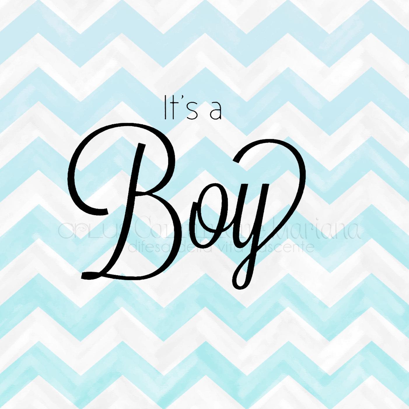 ONLUS COMUNIONE MARIANA its a boy