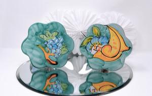 Sottocaffettiera in ceramica decorata a mano - Collezione Ceramiche di Vietri - €7.00